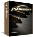 Pianissimo is a virtual grand piano, delivering the rich, warm sound and expressiveness of a classic grand piano. It operates as a VSTi plug-in, or runs as a stand-alone application. Pianissimo uses a combination of sample playback and advanced physical modeling to create a stunning acoustic grand piano sound. Starting with 250 MB of high quality samples of a Steinway(tm) Model D grand piano, Pianissimo uses complex signal processing and programming to recreate the warmth, response, and playability of a real grand piano.