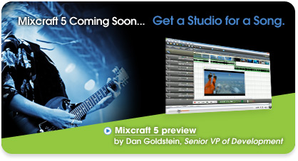 Mixcraft 5 Preview