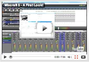 Mixcraft 5: A First Look!