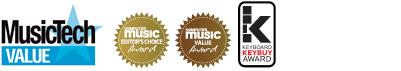 Mixcraft's awards