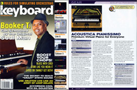 Pianissimo review Keyboard Magazine