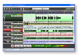 Screenshot Mixcraft 4