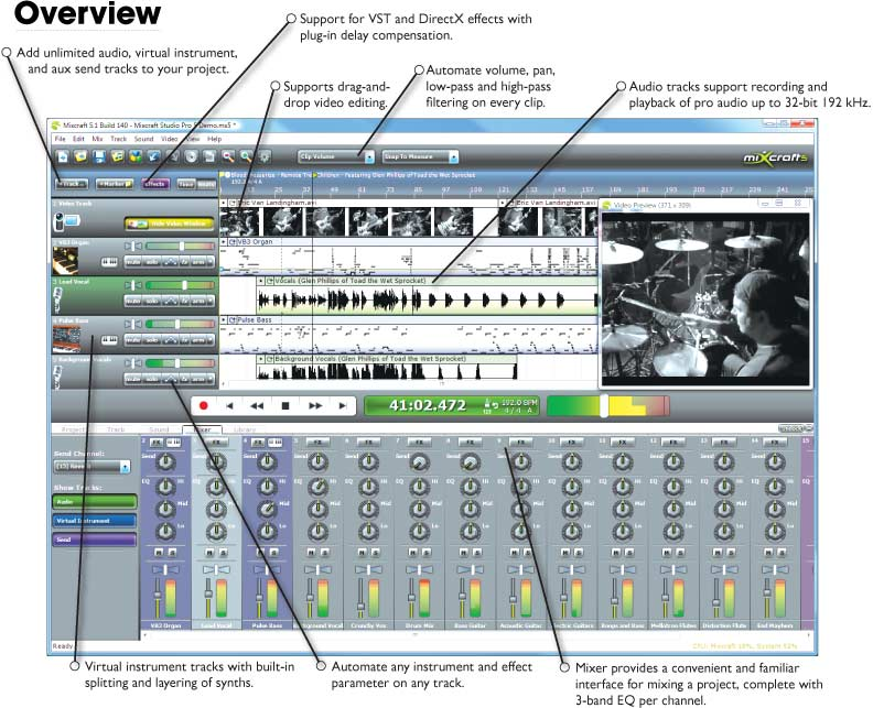Acoustica Mixcraft V5 2 Build 151+Patch Download Pc