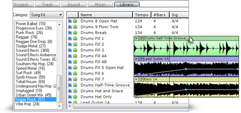 Mixcraft 5 Loops & Sound Effects