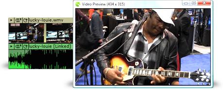 Mixcraft 5 Video Scoring & Editing