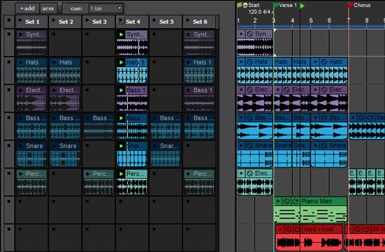 Mixcraft 7 recording software performance panel