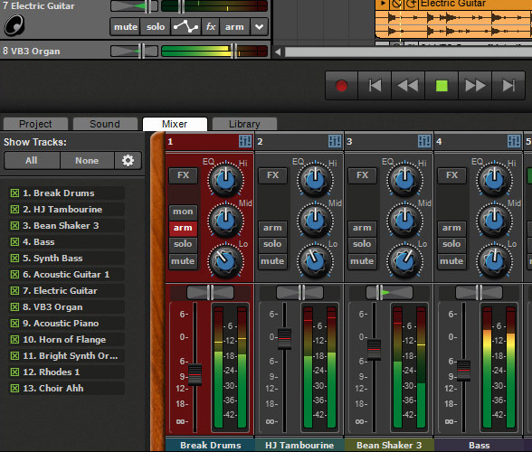 Mixcraft 8 Mixing and Mastering