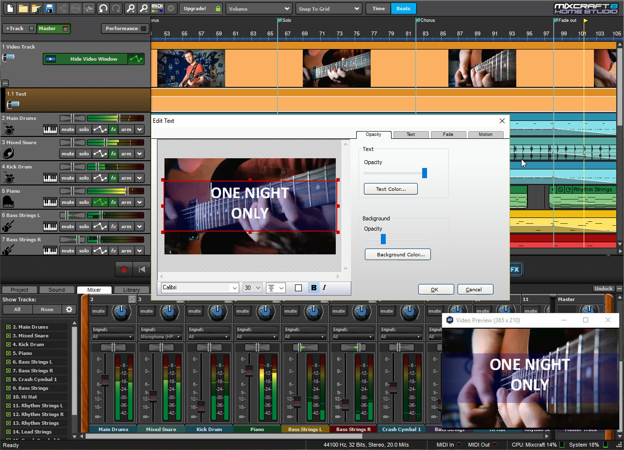 mixcraft 8 home studio review