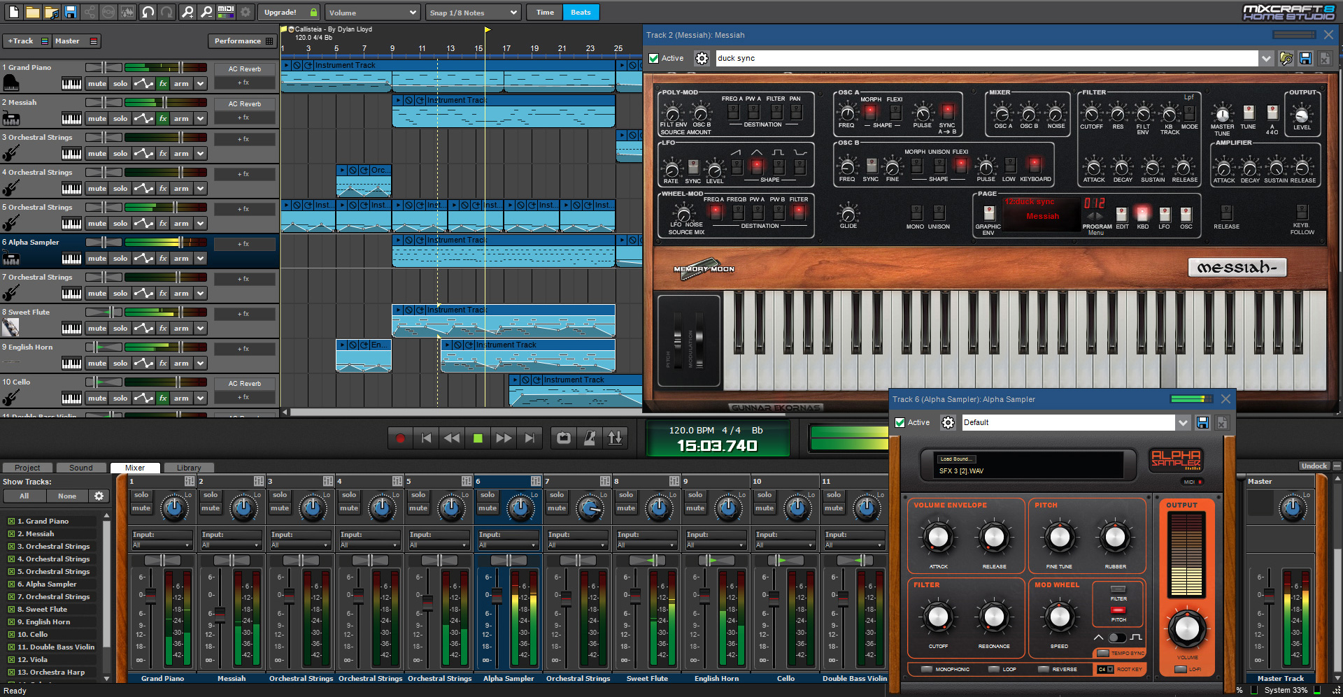 mixcraft 8 home studio music recording software acoustica. Black Bedroom Furniture Sets. Home Design Ideas