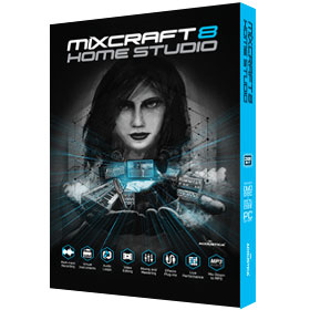 Mixcraft 8 Home Studio Music Making Software
