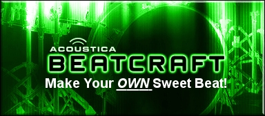 Beatcraft - Make your own sweet beat!  Buy Now!