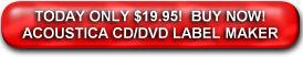 Get Acoustica CD/DVD Label Maker