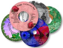 Great looking CD/DVD labels & jewel cases!