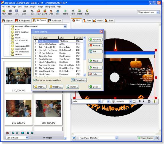 Acoustica : Labelmaker Screenshot-3