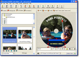Pool Party CD getting ready for production!