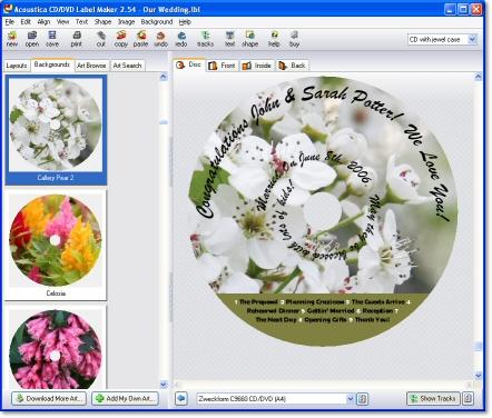 free cd label maker online