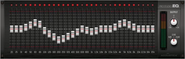 Pro Studio 31 Band EQ - Acoustica User Forums