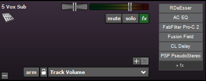 What are your go to vocals effects? - Acoustica User Forums