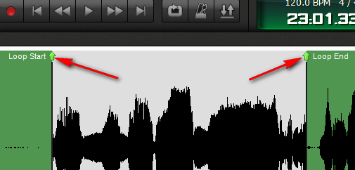 mixcraft crackling sound