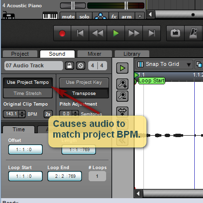 BPM detection in Mixcraft 7 - Acoustica User Forums