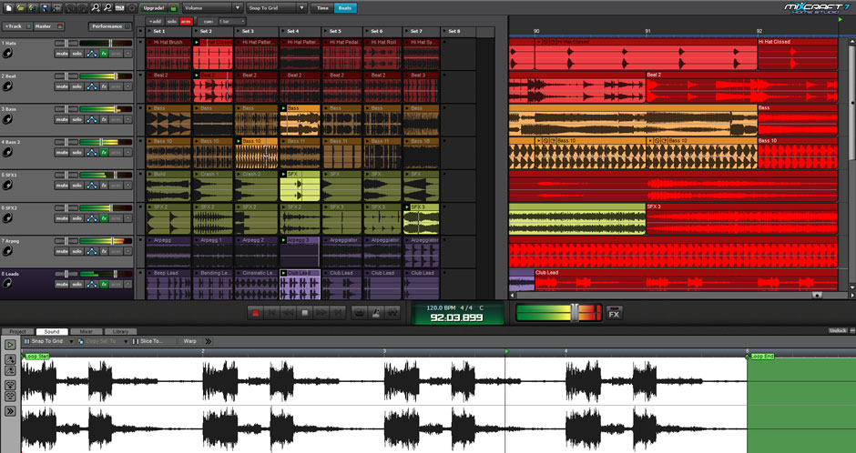 Mixcraft 8 Home Studio Music Make Software Screenshot 3