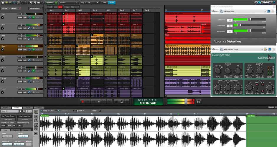 Mixcraft 8 Home Studio Music Make Software Screenshot 4