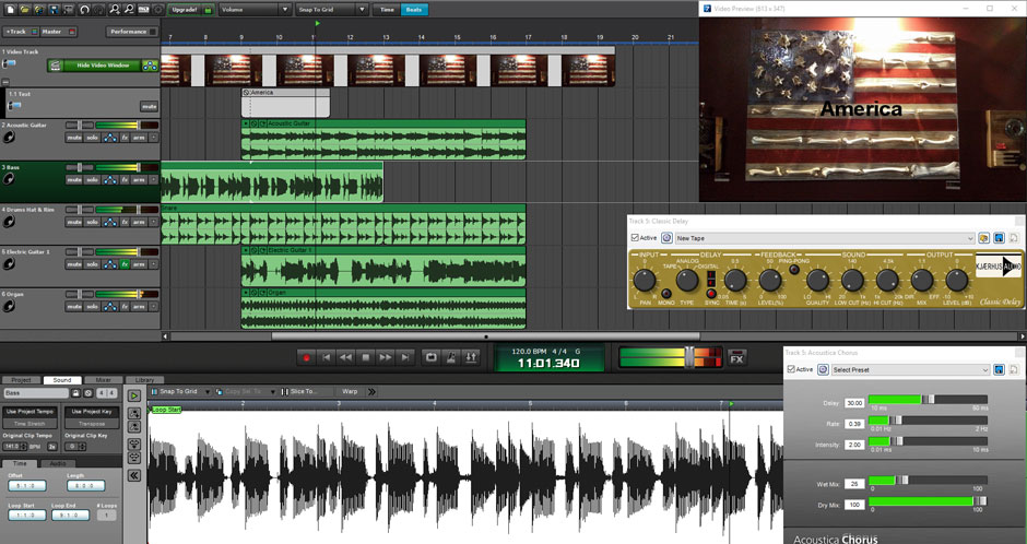 Mixcraft 8 Home Studio Music Make Software Screenshot 5