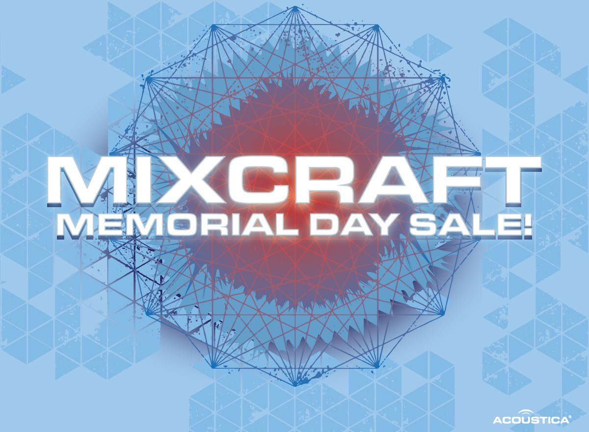 Mixcraft 8 Memorial Day Sale