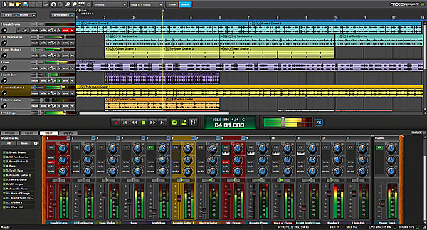 Mixcraft 8 Overview