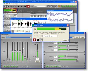Acoustica Mixcraft screenshot
