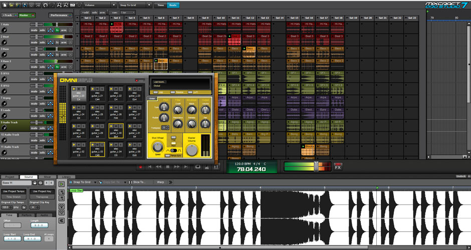Mixcraft 8 Pro Studio Beat Making Software Screenshot 1