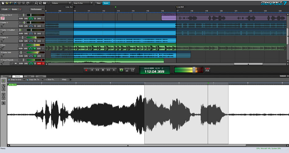 Mixcraft 8 Pro Studio Beat Making Software Screenshot 2