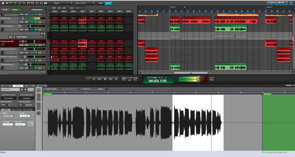 Mixcraft 8 Pro Studio Beat Making Software Screenshot 3