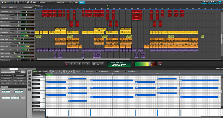 Mixcraft 8 Pro Studio Beat Making Software Screenshot 5