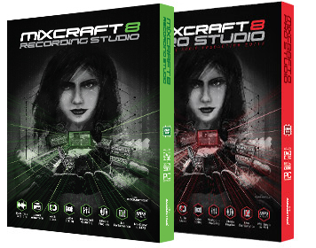 Mixcraft 8 and Mixcraft 8 Pro Studio Music Recording Software