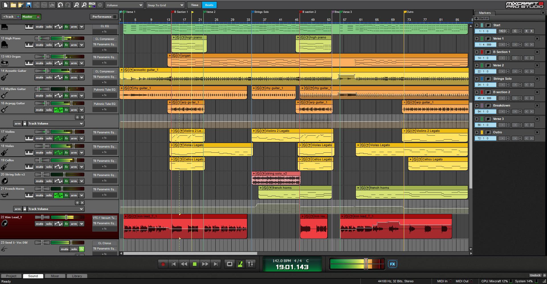 how to get clean vocals in mixcraft