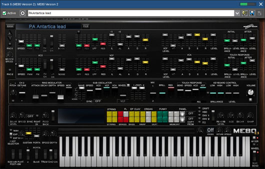 Mixcraft 8 Pro Studio Stunning Synths