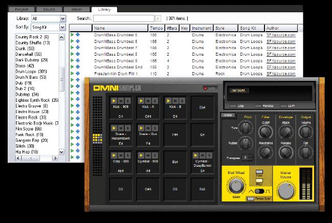 Mixcraft 7 7,300 Loops